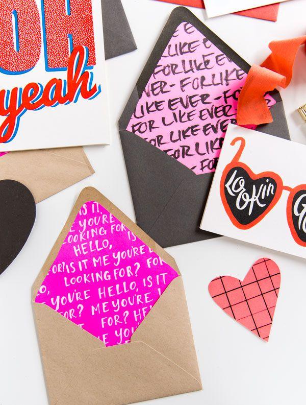 The 25+ best DIY Valentine\'s envelope ideas on Pinterest   Legal ...