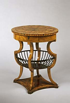 1820 And there would have been original Biedermeier furniture here at Prague Castle at the time, when it was being made?