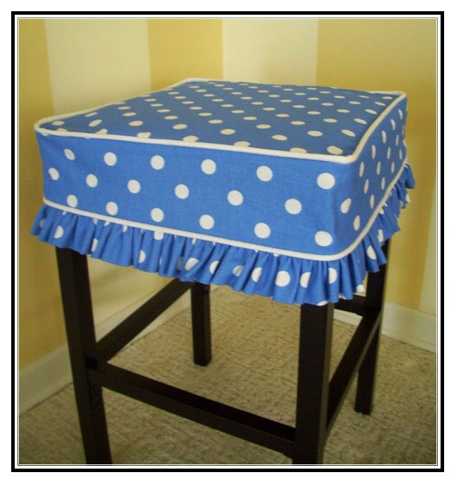 | Bar stool cushion covers square