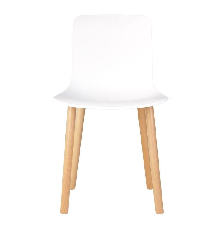 Replica Jasper Morrison Hal Chair - White - Stools & Chairs