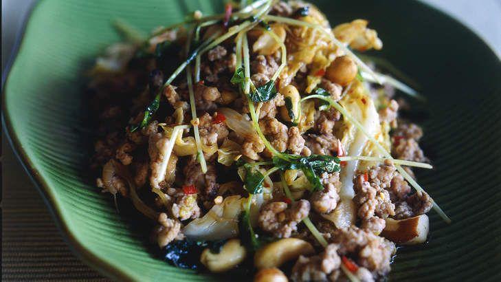 Luke Mangan's Thai stir-fry.
