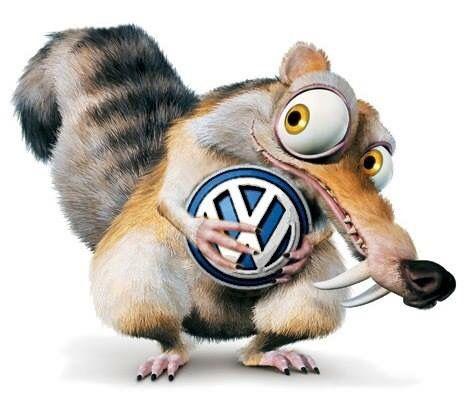 Volkswagen is mine VW  Cartoon Logo