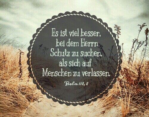 Psalm 118,8                                                                                                                                                                                 Mehr