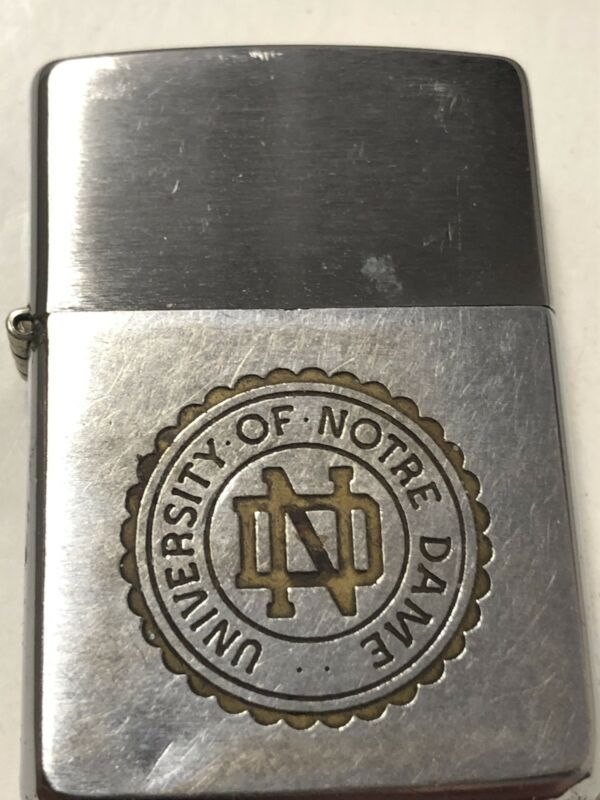 University Of Notre Dame Commemorative 1962 Zippo Lighter 2014 Insert Good Cam In 2020 Zippo Lighter Zippo Zippo Art