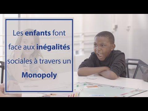 Ces enfants jouent au Monopoly avec des règles qui reflètent la réalité de la société. - YouTube