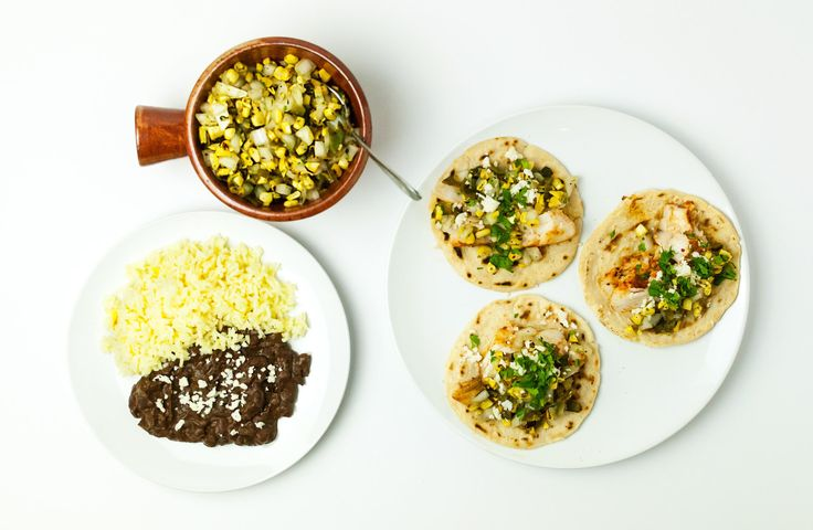 Late Summer Salsa with corn and charred poblanos