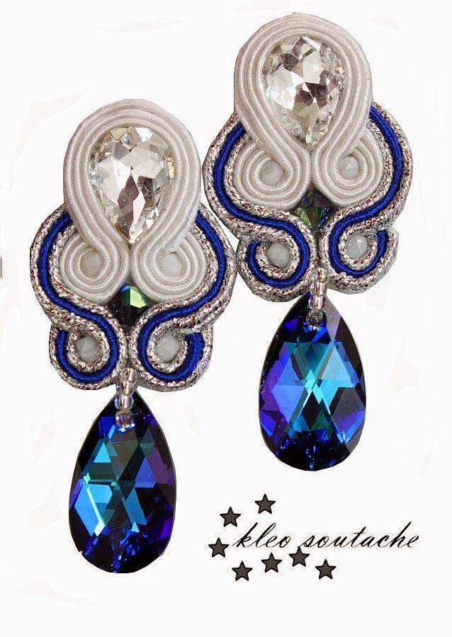 Sutasz Kleo /Soutache jewellery: NAKOR HELIOTROPE