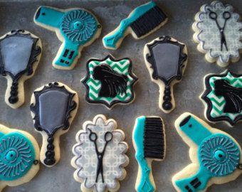 Salon Hairstylist Sugar Cookies