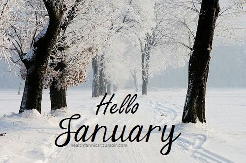Hello January quotes