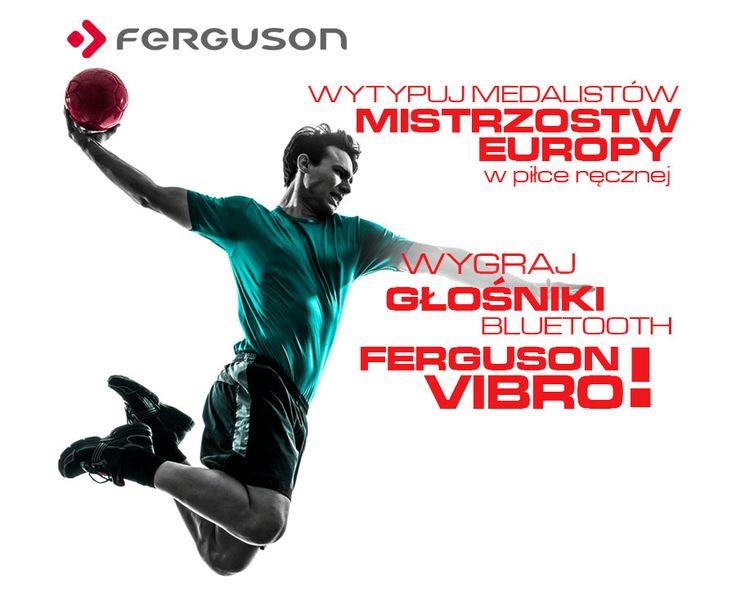 Wytypuj Medalistów Mistrzostw Europy - WYGRAJ głośniki Bluetooth Ferguson Vibro! http://sklep.ferguson.pl/konkurs-glosniki-bluetooth-ferguson-vibro