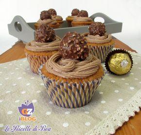 Cupcake Nutella e Rocher