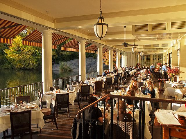 The Boathouse in Central Park! I went canooing on the lake to the left! :) 2010