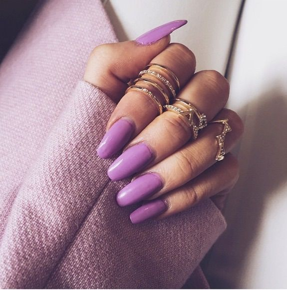 I love this color of purple. It's so pretty and perfect for spring or fall.