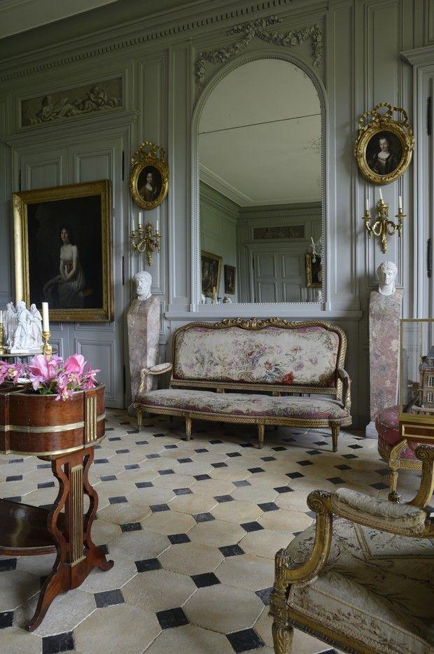 Paraíso vintage: um tour pelo château de Digoine