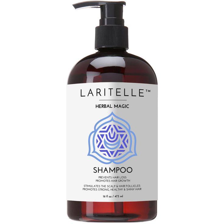 Laritelle Organic Unscented Shampoo Herbal Magic 16 oz