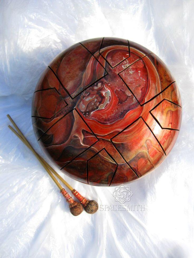 Глюкофоны Spacesmith (hapi drum, hank drum) – 61 фотография