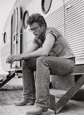 James Dean...one of my favorite actors. I just wish he could have lived longer...he would have been such a great actor!
