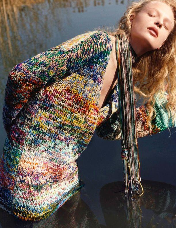 Missoni F/W '16-17 | wonderful shaded yarn