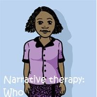 Part of a series of posts on narrative therapy. This one focuses on the who or character in stories and ideas for working on this.