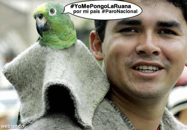 #YoMePongoLaRuana