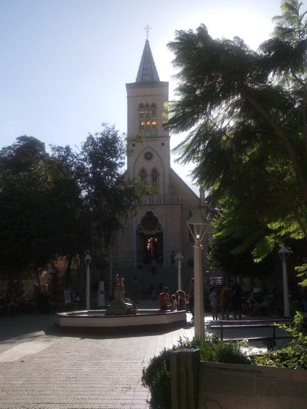 Iglesia Pisco Elqui. IV Región de Coquimbo. Chile.