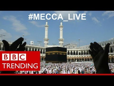 ▶ Mecca live - What pilgrims showed the world from Mecca - BBC Trending - YouTube - 1:19m