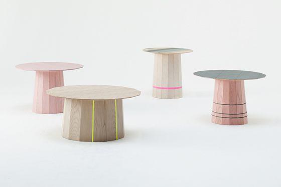 Scholten & Baijings - Colour Wood für Karimoku New Standard, 2009 - Foto © Takumi Ota