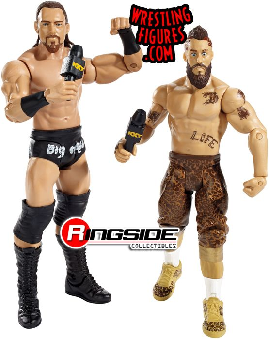 Enzo Amore & Colin Cassady (NXT) - WWE Battle Packs 40 WWE Toy Wrestling Action Figures by Mattel! SAWFT!