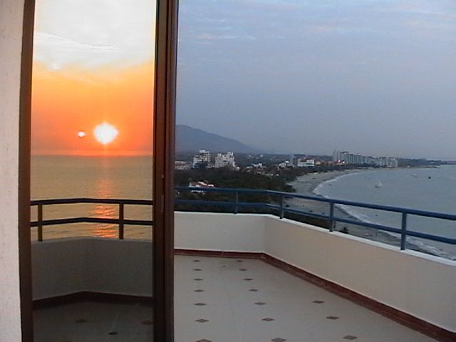 I know this may be a bit bias, but this is Santa Marta, Colombia again at sunset!