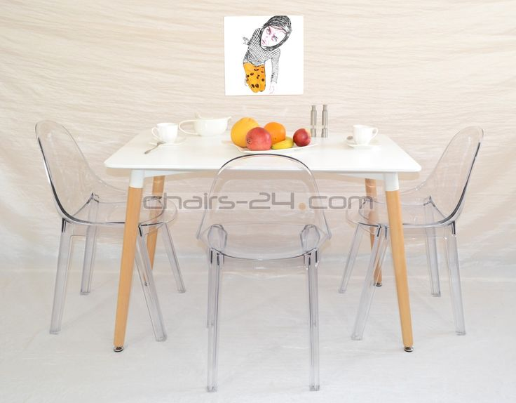 FIT YOU FY012T - transparent chair Nowoczesne meble / Modern furniture