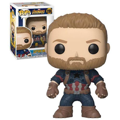 Funko Pop Marvel Avengers Infinity War 288 Captain America 2018 Movie New Mint Condition Funko Pop Avengers Marvel Pop Vinyl Funko Pop Dolls
