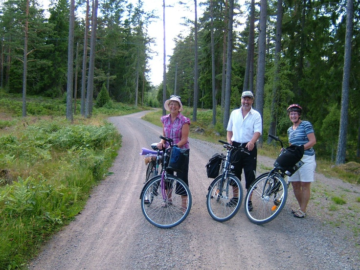 Målerås -crystal village , hiking, cycling and much more