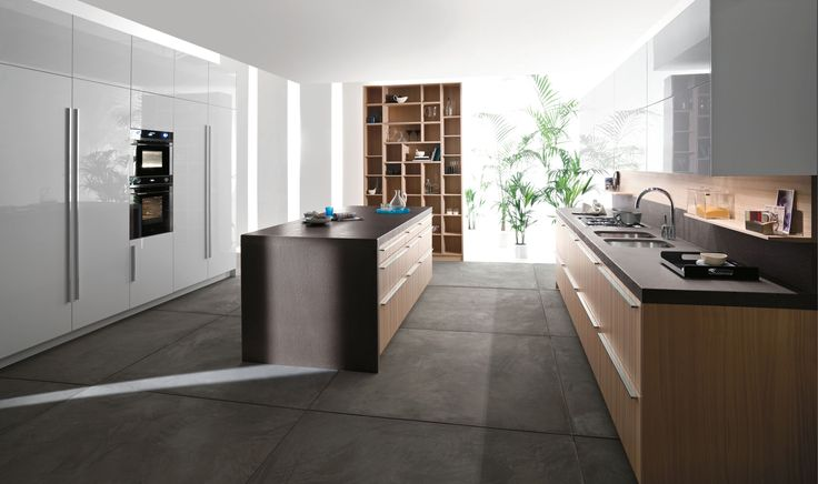 #Trendy #Italian #Kitchens From #Snaidero