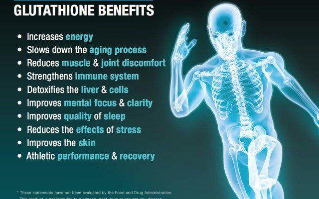 The Mother Of All Antioxidants - Glutathione Benefits