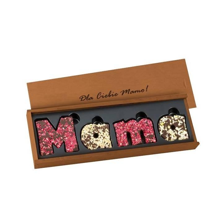Deserowy napis Mama