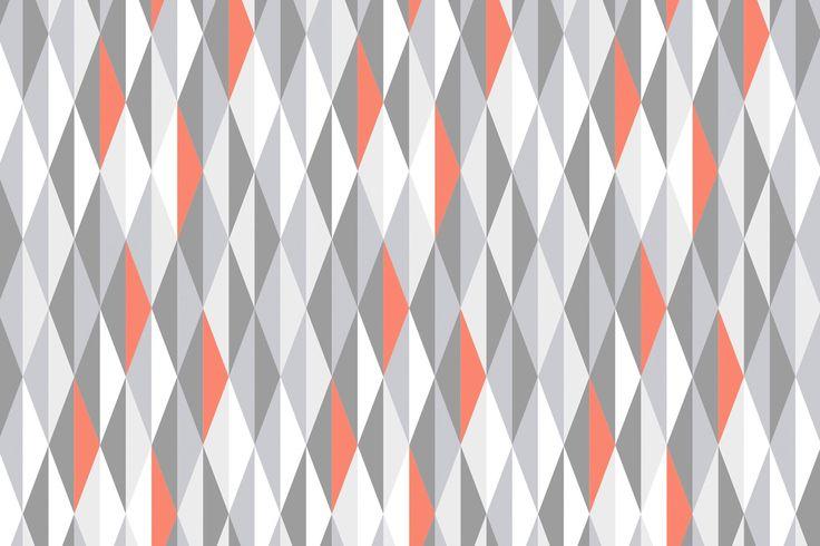 Aggiungi un tocco di eleganza scandinava alle tue pareti con questa disinvolta decorazione murale geometrica. La nostra decorazione murale con diamanti corallo è un modo fantastico per avere questo look rilassato in casa tua, e le luminose macchie di colore corallo portano in vita questo motivo.