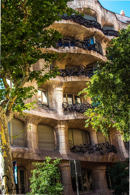 La Pedrera by Gaudí, Barcelona, Spain