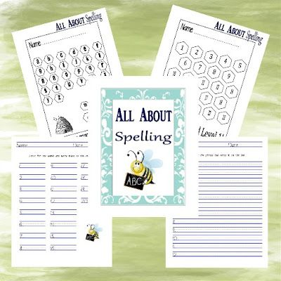 Tending Our Lord's Garden: All About Spelling --  additional worksheets