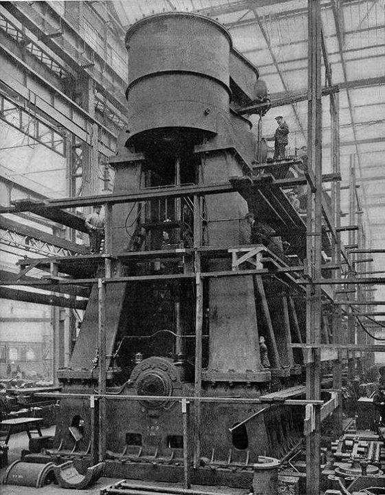 Steam Ship Engine Room: The Engines Of Titanic
