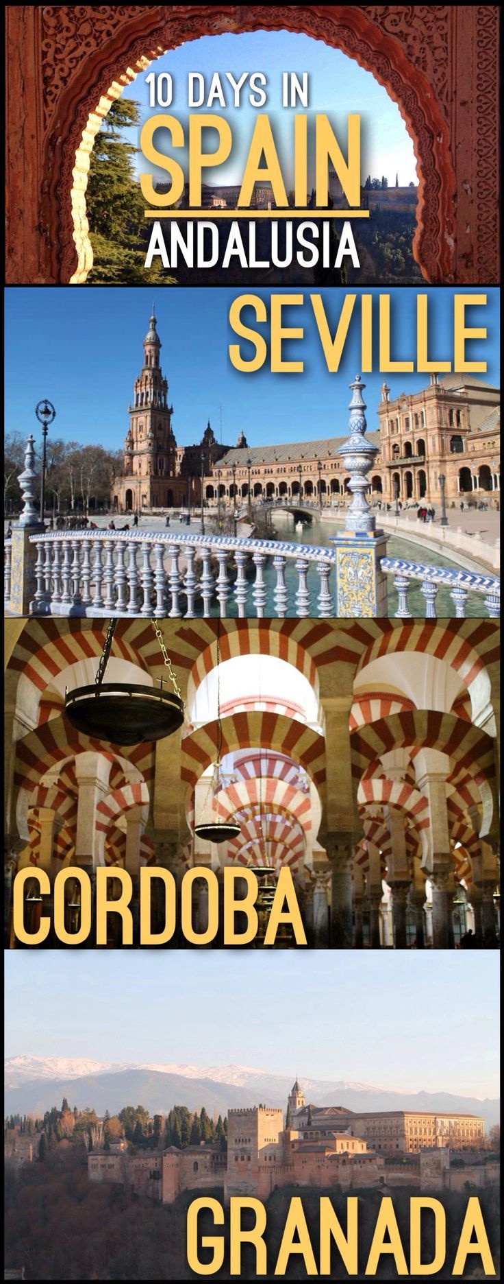 Planning to visit Andalusia, Spain? Check out our 10 Days in Spain Itinerary whi…