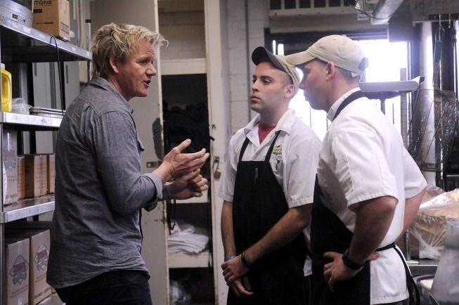 Kitchen Nightmares Zeke S Closed Kitchen Nightmares Chef Gordon Ramsay Gordon Ramsay