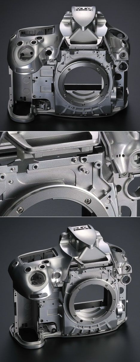 Glad I Didn't Have to CAD: Nikon SLR Skeletons - Core77