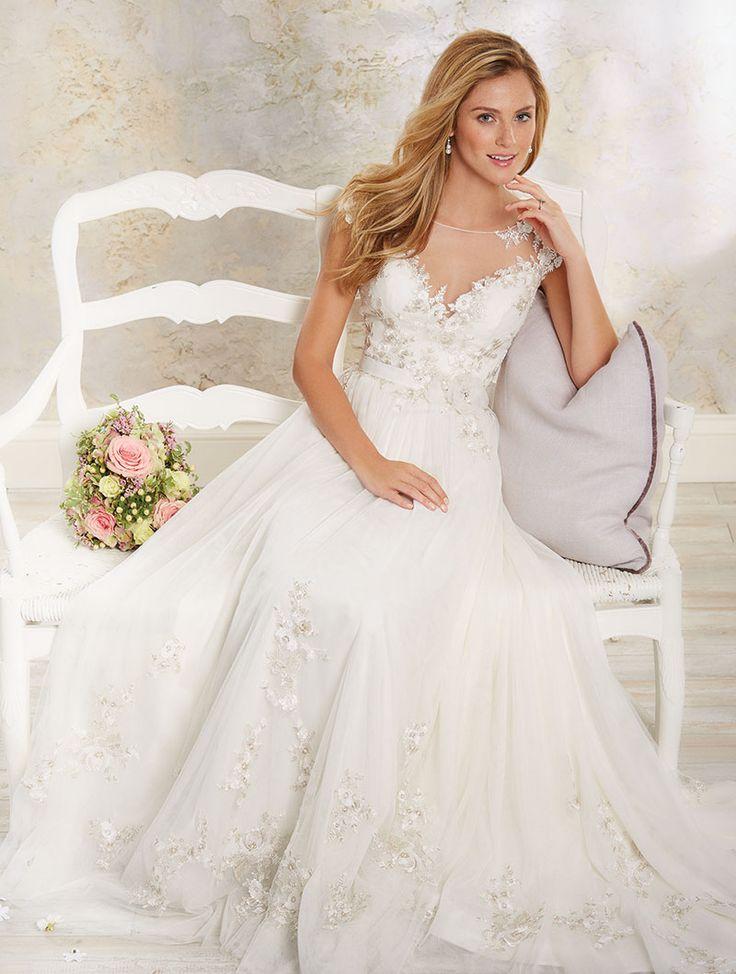 64 besten Lace Wedding Gowns Bilder auf Pinterest | Hochzeitskleider ...