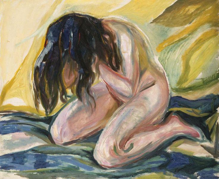 En las pinturas de Edvard Munch explora aquellos sentimientos inexplicables para el ser humano, logra desmembrar...