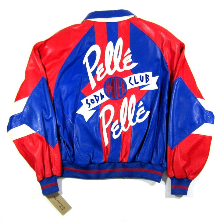 Kids pelle pelle leather jackets