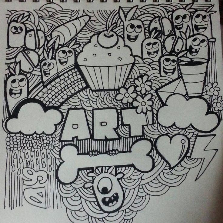doodle jishnu k doodle art drawing