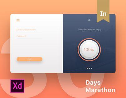 다음 @Behance 프로젝트 확인: \u201c30 Days Marathon in Adobe XD\u201d https://www.behance.net/gallery/45826005/30-Days-Marathon-in-Adobe-XD