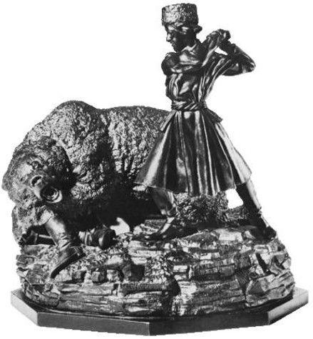 "Проект: Скульптура ""Охота на медведя"" — ООО КасЛитСтрой — MyHome.ru"