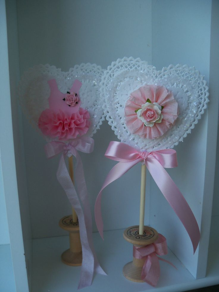 Custom decorative birthday party wand and valentine for Birthday wand