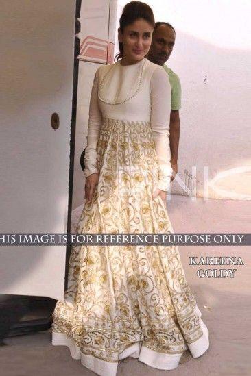 72f3b5da32 Kareena Kapoor Designer White Gown - DMV9861 | Christmas Dresses ...